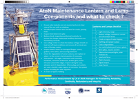 Printable :Aids to Navigation (AtoN) maintenance lantern and lamp components and what to check?