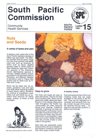 Nuts and seeds: a variety of tastes and uses