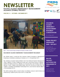 Newsletter - Pacific Islands Emergency Management Alliance (PIEMA) project - Issue No. 3