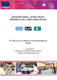 European Union – North Pacific – Readiness For El Niño (RENI) Project: 2nd Planning and Steering Committee Meeting Report