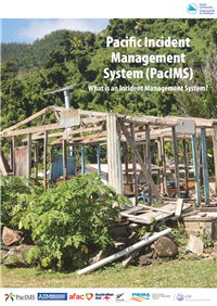 Pacific Incident Management Systems (PacIMS) Guideline