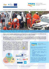 Pacific Islands Emergency Management Alliance (PIEMA) Media Factsheet