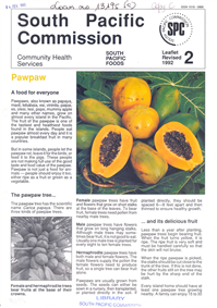 Pawpaw: a food for everyone