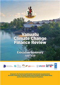Vanuatu Climate Change and disaster risk finance assessment: executive summary  - June 2018