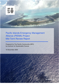 Pacific Islands Emergency Management Alliance (PIEMA) Project: mid-term review report