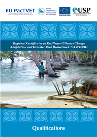 Regional certificates in resilience (climate change adaptation and disaster risk reduction / CCA &DDR)