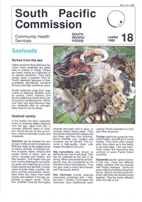 Seafoods: Riches from the sea