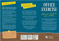 Office exercise: add more activity to your workday
