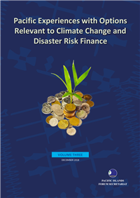 Pacific Experiences with Options Relevant to Climate Change and Disaster Risk Finance