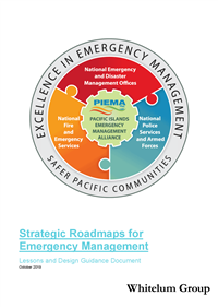 Strategic Roadmaps for Emergency Management: lessons and Design Guidance Document