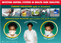 Infection control systems in health care facilities: standard precautions apply to all patients