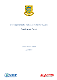 Development of a National Portal for Tuvalu: business case