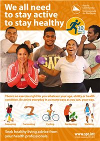 We all need to stay active to stay healthy