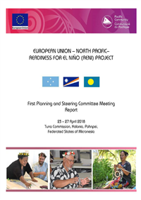 European Union – North Pacific – Readiness For El Niño (RENI) Project: 1st Planning and Steering Committee Meeting Report