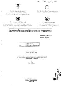 Environmental health in rural development and food hygiene