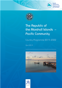 The Republic of the Marshall Islands-Pacific Community country programme 2019-2022