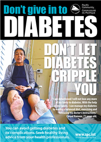 Don't give in to diabetes: don't let diabetes cripple you