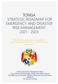 Tonga Strategic Roadmap for Emergency Risk Management 2021-2023