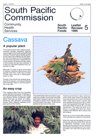 Cassava: a popular plant