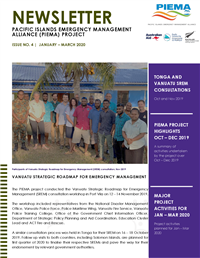 Newsletter - Pacific Islands Emergency Management Alliance (PIEMA) project - Issue No. 4