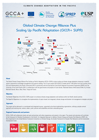 Global Climate Change Alliance Plus Scaling Up Pacific Adaptation (GCCA+ SUPA)