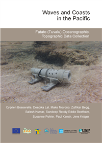 Fatato (Tuvalu), Oceanographic, Topographic data collection