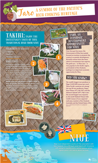 Taro: a symbol of the Pacific's rich cooking heritage