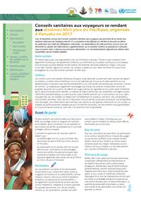 Conseils sanitaires aux voyageurs se rendant aux dixièmes Mini-jeux du Pacifique, organisés à Vanuatu en 2017