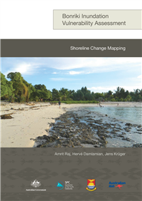 Shoreline change mapping
