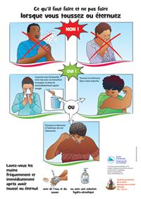 Ce qu'il faut faire et ne pas faire lorsque vous toussez ou éternuez