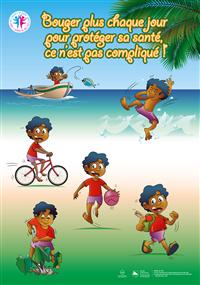 9 affiches nutrition et activité physique_enfants
