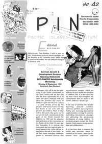 PIN (Pacific Islands NCDs): Promoting a healthier Pacific n° 42
