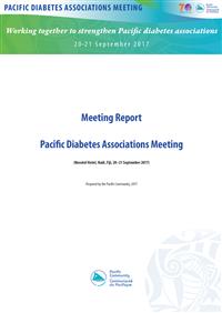 Pacific Diabetes Associations Meeting