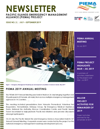 Newsletter - Pacific Islands Emergency Management Alliance (PIEMA) project - Issue No. 2