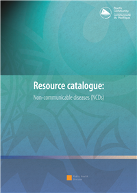 Resource catalogue: non-communicable diseases (NCDs)