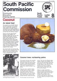 Coconut: an island food