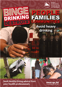 Binge drinking destroys': people, families, communities