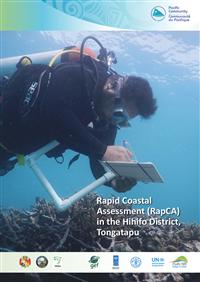 Rapid coastal assessment (RapCA) in the Hihifo District, Tongatapu.