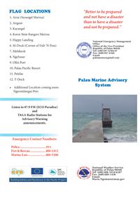Palau Marine Advisory System