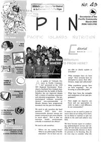 PIN (Pacific Islands NCDs): Promoting a healthier Pacific
