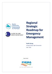 Regional Strategic Roadmap for Emergency Management 2021-2025
