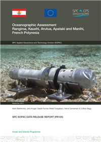 Oceanographic assessment: Rangiroa, Kauehi, Arutua, Apataki and Manihi, French Polynesia